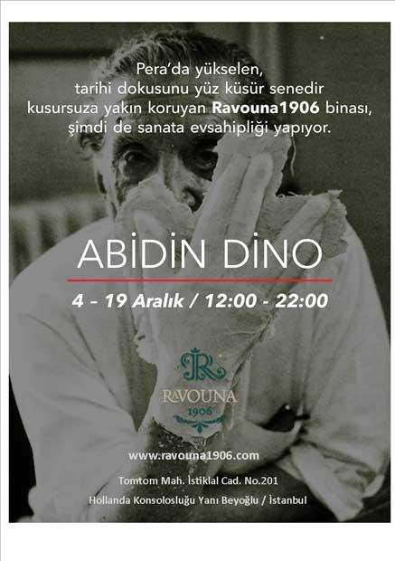 Abidin Dino Beyoğlu'nda